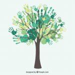 arbre avec mains