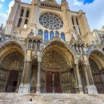 La cathdrale Notre de Dame de Chartres ,en France