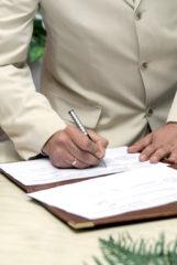 Signature-mariage