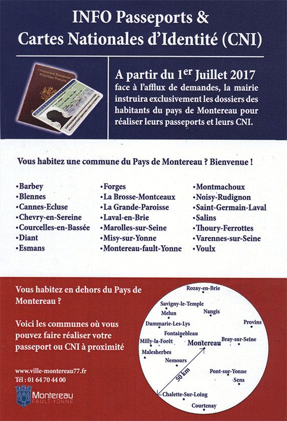 Titre D Identite Certificat Attestation Montereau Fault Yonne