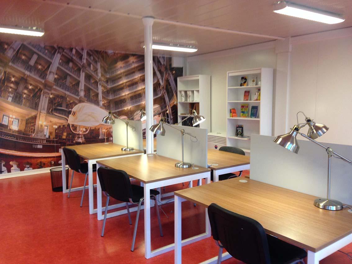 Bibliothèque - Université des savoirs