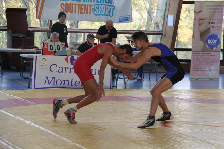 championnat départemental de lutte