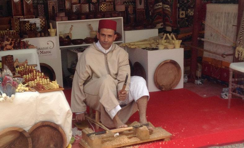 Le Maroc à l'honneur - Village des artisans