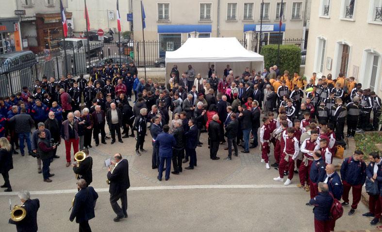 Cour d'honneur de la Mairie