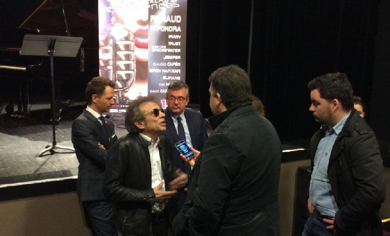Présentation du festival Avec Philippe Manoeuvre