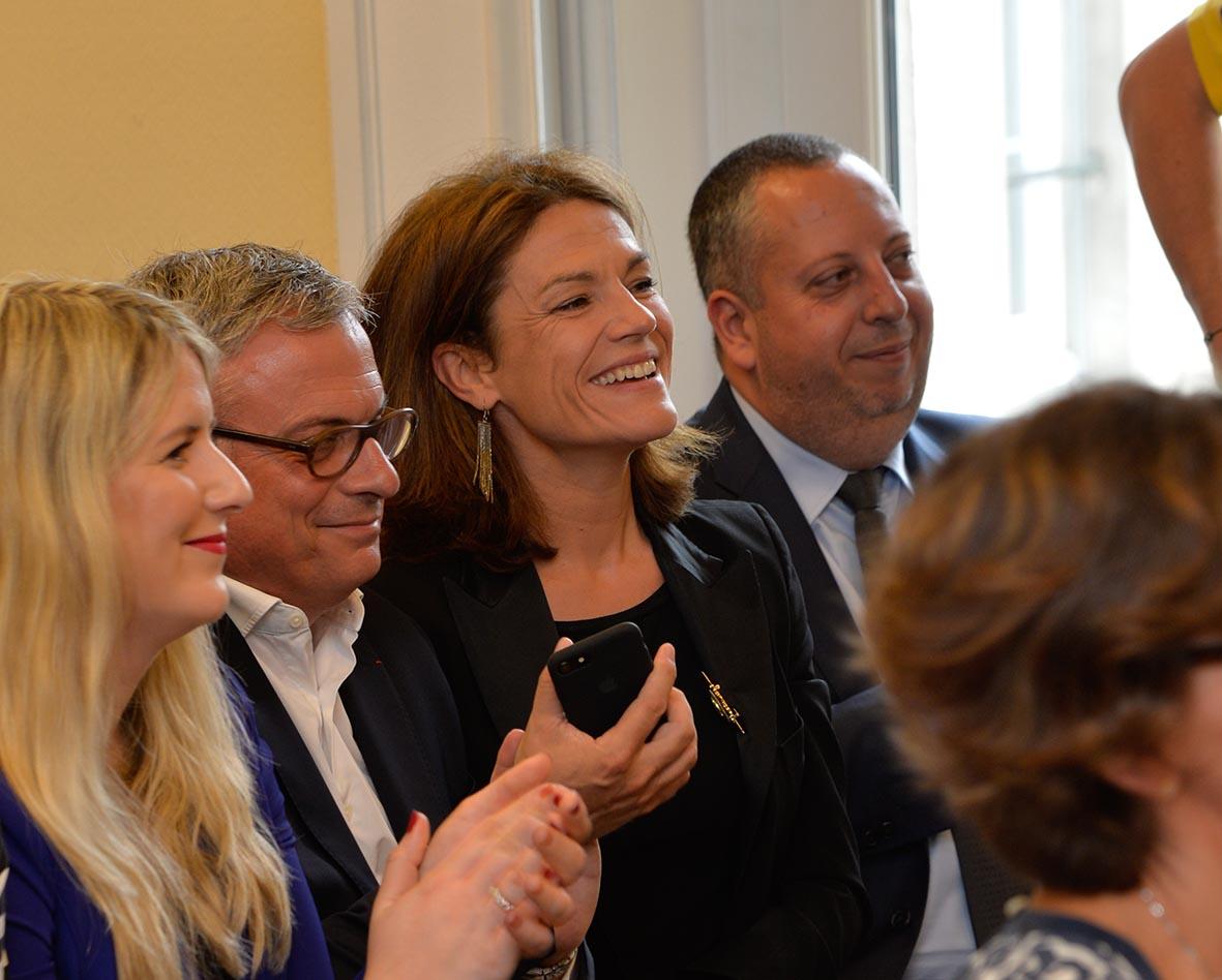 Chantal Jouanno, sénatrice UDI de Paris et  Vice-présidente du Conseil Régional d'ile-de-France