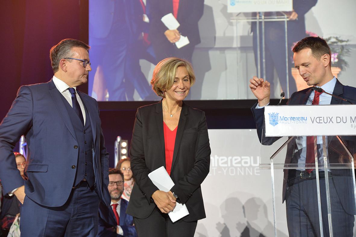 Yves jégo, Valérie Pécresse, James Chéron