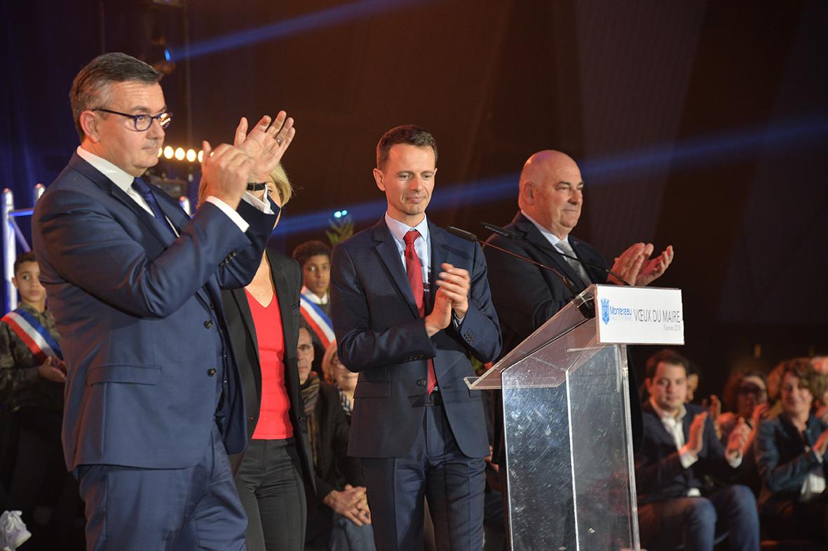 Yves jégo, Valérie Pécresse, James Chéron, Jean-Jacques Barbeaux