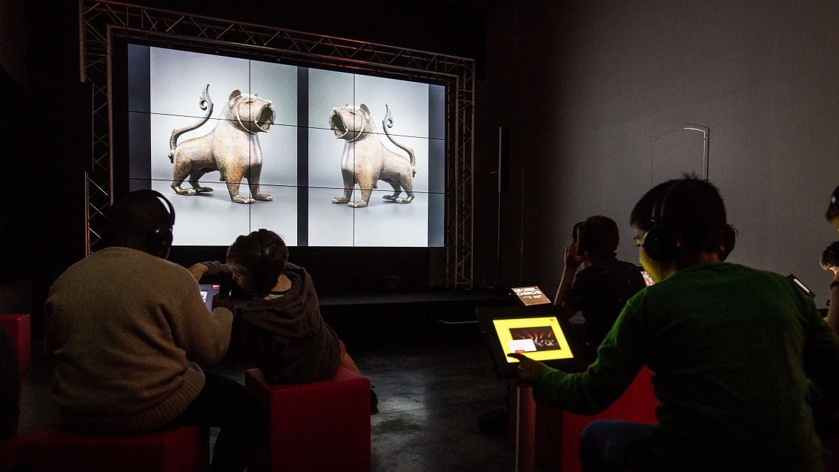 Musée numérique Lille  © Charles Mangin