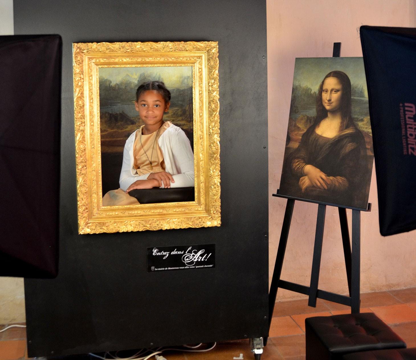 photocall-Joconde Musée numérique -Montereau fault Yonne (c) service com