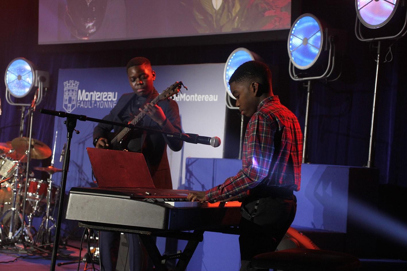 Joute musicale des frères Nyoka inscrits au Conservatoire depuis 5 ans !