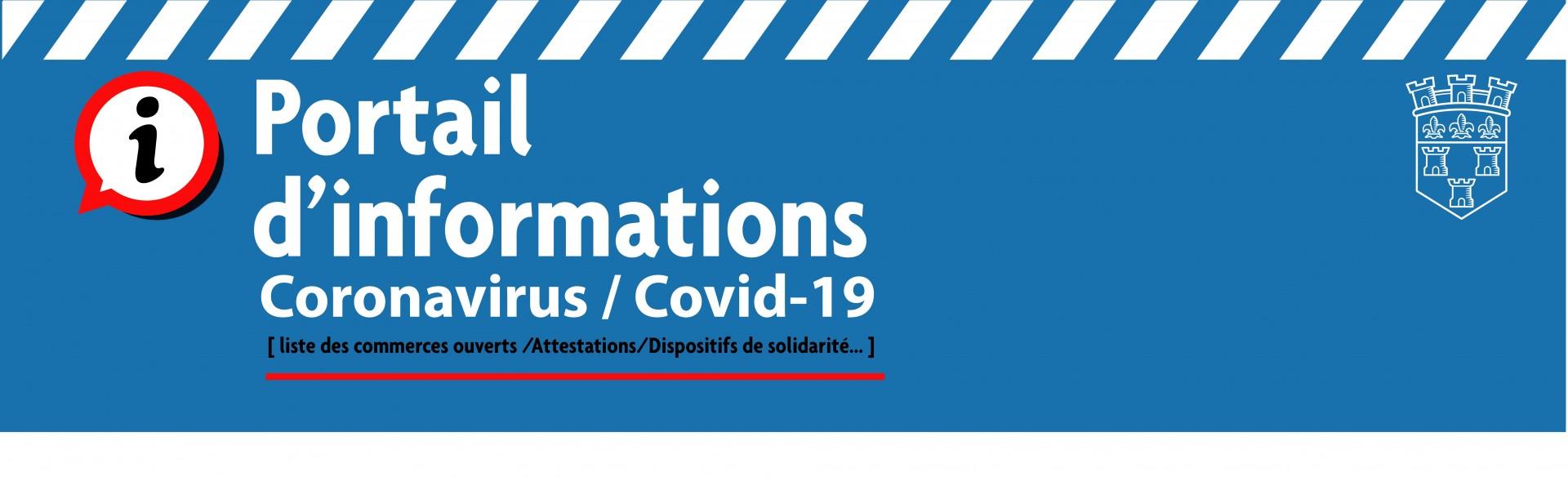 L'ensemble de l'info «covid-19» ici