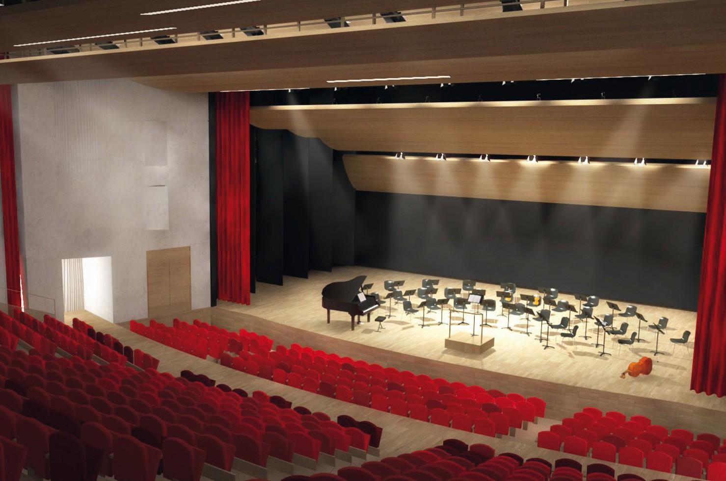 Configuration concert assis